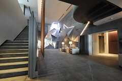エントランス・ホールの様子2。(2014-02-18,共用部,OTHER,1F)