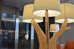 オリジナルの照明。ちょっぴり北欧テイストです。(2014-02-18,共用部,LIVINGROOM,1F)