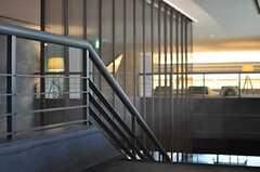 階段の手すり。(2014-02-18,共用部,OTHER,2F)