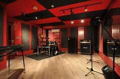 Cスタジオの様子。(2014-02-18,共用部,OTHER,)
