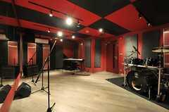 Cスタジオの様子2。(2014-02-18,共用部,OTHER,)