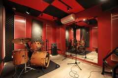 Bスタジオの様子。(2014-02-18,共用部,OTHER,)