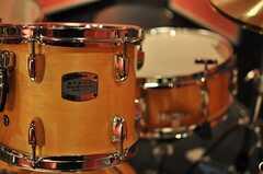 ドラムセットは、ヤマハのバーチカスタム。(2014-02-18,共用部,OTHER,)