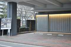 ガレージスペースの様子。(2014-02-28,共用部,GARAGE,1F)