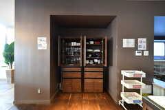 食器棚の様子。(2020-03-12,共用部,KITCHEN,1F)