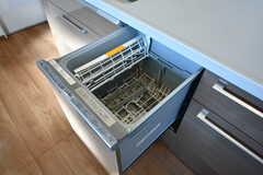 食洗機が設置されています。(2020-03-05,共用部,KITCHEN,2F)