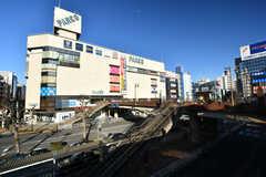各線・津田沼駅前の様子。(2020-03-05,共用部,ENVIRONMENT,1F)