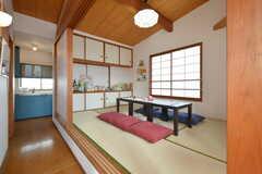 小上がりの和室があります。(2016-01-07,共用部,LIVINGROOM,2F)