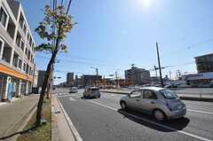 シェアハウスから東京メトロ東西線・南行徳駅へ向かう道の様子。(2011-03-10,共用部,OTHER,1F)