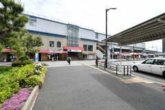 東京メトロ東西線・南行徳駅の様子。(2021-05-06,共用部,ENVIRONMENT,1F)