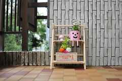 玄関に置かれたオブジェの様子。(2013-10-23,周辺環境,ENTRANCE,2F)