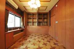 収納の様子。(201号室)(2013-10-23,専有部,ROOM,2F)
