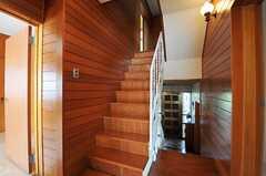 階段の様子。(2013-10-23,共用部,OTHER,2F)