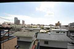 窓からの景色。(303号室)(2013-10-23,専有部,ROOM,4F)