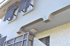 玄関の上はアーチ状になっています。(2013-10-23,共用部,OTHER,1F)