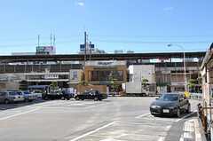 JR総武線・本八幡駅の様子。(2013-10-23,共用部,ENVIRONMENT,1F)