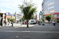 JR・本八幡駅の様子。(2017-08-25,共用部,ENVIRONMENT,1F)