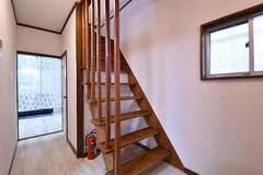 階段の様子。(2016-11-16,共用部,OTHER,1F)