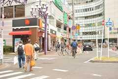 JR中央総武線・下総中山駅周辺の様子。(2016-11-16,共用部,ENVIRONMENT,1F)