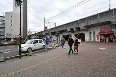 JR中央総武線・下総中山駅の様子。(2016-11-16,共用部,ENVIRONMENT,1F)