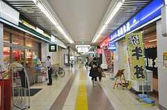 東京メトロ東西線・原木中山駅前の様子。(2009-02-17,共用部,ENVIRONMENT,3F)