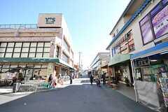 東京メトロ東西線・原木中山駅前の様子2。(2009-02-17,共用部,ENVIRONMENT,3F)