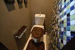 ウォシュレット付きトイレの様子。(2016-05-24,共用部,TOILET,2F)