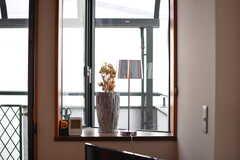出窓の様子。(2020-03-27,共用部,LIVINGROOM,2F)