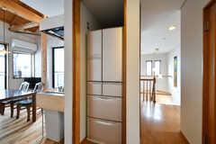 冷蔵庫の様子。(2020-03-27,共用部,KITCHEN,2F)