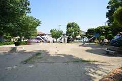 シェアハウス近くの公園。(2014-06-19,共用部,ENVIRONMENT,1F)