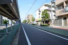 駅からシェアハウスへ向かう道の様子。(2014-06-19,共用部,ENVIRONMENT,1F)