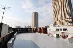 屋上の様子2。(2010-03-19,共用部,OTHER,3F)