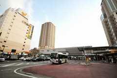 JR総武線市川駅の様子。(2010-03-19,共用部,ENVIRONMENT,1F)