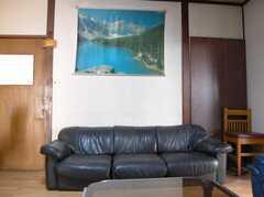 シェアハウスのラウンジ3。(2008-02-20,共用部,LIVINGROOM,2F)
