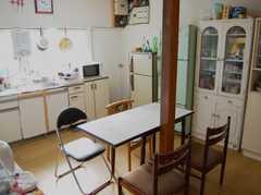 シェアハウスのキッチンの様子2。(2008-02-20,共用部,KITCHEN,1F)