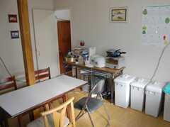シェアハウスのキッチンの様子3。(2008-02-20,共用部,KITCHEN,1F)