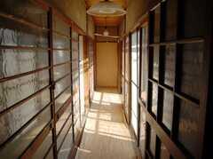 廊下の様子。(2008-02-20,共用部,OTHER,2F)