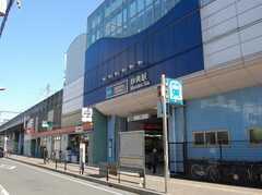 東京メトロ東西線妙典駅の様子。(2008-02-20,共用部,ENVIRONMENT,1F)