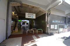 東京メトロ東西線・原木中山駅の様子。(2016-01-19,共用部,ENVIRONMENT,1F)