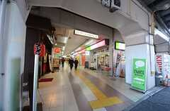 東京メトロ東西線・原木中山駅の様子2。(2016-01-19,共用部,ENVIRONMENT,1F)