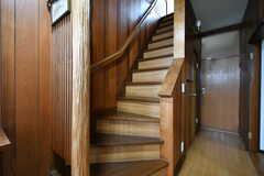 階段の様子。(2017-09-27,共用部,OTHER,1F)