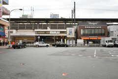 JR・本八幡駅の様子。(2017-09-27,共用部,ENVIRONMENT,1F)
