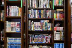 共用の本棚。(2021-09-28,共用部,OTHER,1F)