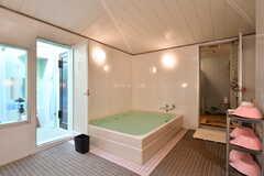 男性用大浴場の様子3。(2021-09-28,共用部,BATH,1F)