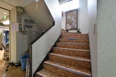 階段の様子。(2021-09-28,共用部,OTHER,1F)