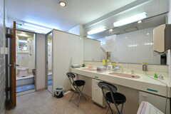 女性専用の洗面台。(2021-09-28,共用部,TOILET,4F)