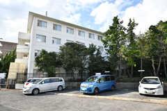 駐車場の様子。(2021-09-28,共用部,GARAGE,1F)