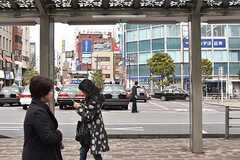 JR中央総武線・市川駅周辺の様子2。(2017-03-13,共用部,ENVIRONMENT,1F)
