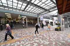 JR中央総武線・市川駅の様子。(2017-03-13,共用部,ENVIRONMENT,1F)