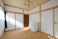 収納の様子。(202号室)(2017-12-25,専有部,ROOM,2F)